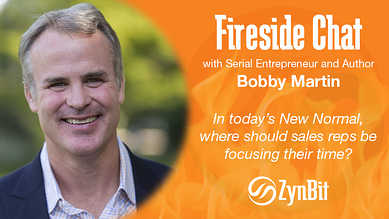Fireside Chat with Serial Entrepreneur & Author Bobby Martin