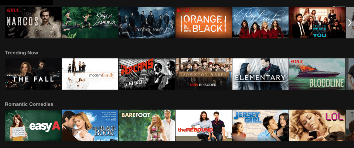 Netflix-shows