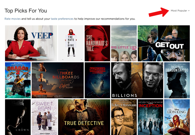 Netflix using first-party cookies for recommendations. We won't see first-party cookies going away anytime soon