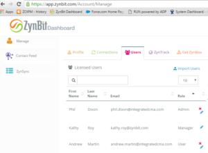 admin profiles