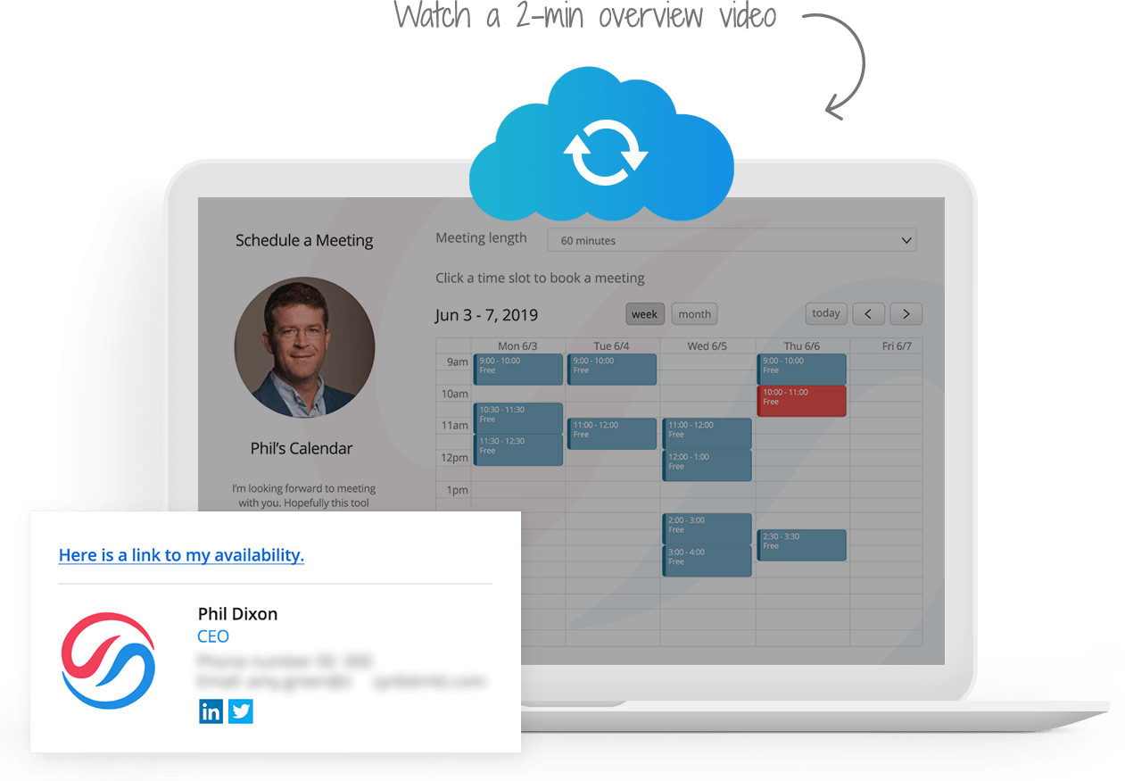 ZynCal - Intelligent Calendar Scheduling of appointments and meetings