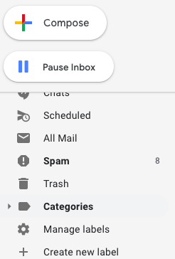 Gmail Create new label