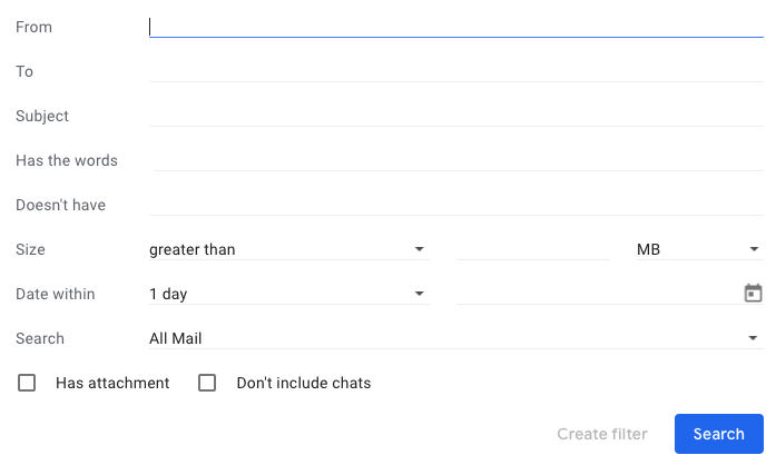 gmail-message-filters